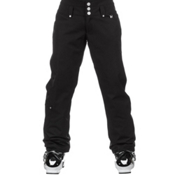 NILS Annalise Womens Ski Pants, Black, medium