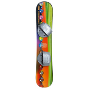 Emsco Freeride 110 Marble Flow Plastic Snowboard, , medium