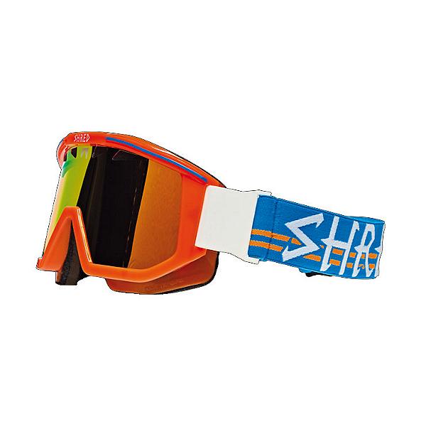 SHRED Omnibot 80s Papaya Goggles, , 600