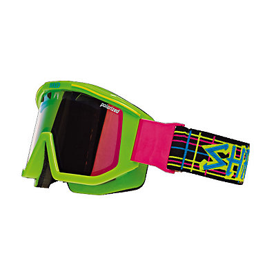 SHRED Omnibot Fruition Green Goggles, , viewer