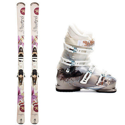 Rossignol Temptation 76 Womens Ski Package, , large