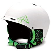 SHRED Half Brain Helmet 2013, White Matte, medium
