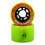 RC Cosmic Superfly Roller Skate Wheels 2013, Yellow, medium
