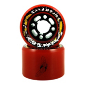 RC Cosmic Superfly Roller Skate Wheels 2013, Red, medium