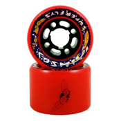 RC Cosmic Superfly Roller Skate Wheels 2013, Orange, medium
