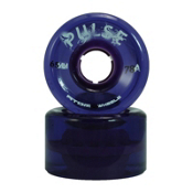 Atom Pulse Roller Skate Wheels, Purple, medium