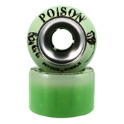 Atom Poison Alloy - 8 Pack Roller Skate Wheels, , medium