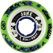 Atom Juke 2.0 Blue Roller Skate Wheels - 4 Pack, , medium