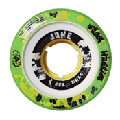 Atom Juke 2.0 Yellow Roller Skate Wheels - 4 Pack, , medium