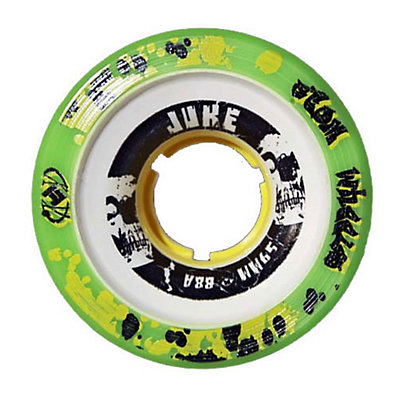 Atom Juke 2.0 Yellow Roller Skate Wheels - 4 Pack, , viewer