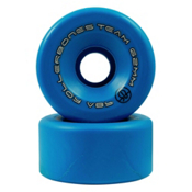 Rollerbones Team Series - 8 Pack Roller Skate Wheels, Blue, medium