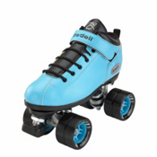 Riedell Dart Aqua Speed Roller Skates, Aqua, medium