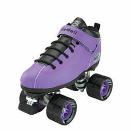 Riedell Purple Dart Speed Roller Skates 2017, Purple, 256