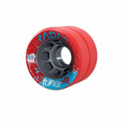 Radar Turner Jr Grip Roller Skate Wheels - 4 Pack, Red, medium