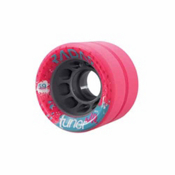 Radar Tuner Jr Quick Roller Skate Wheels - 4 Pack, Pink, medium