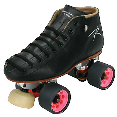 Riedell Torch Womens Derby Roller Skates 2016, Black, large