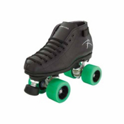 Riedell Spark Womens Derby Roller Skates 2013, Black, medium
