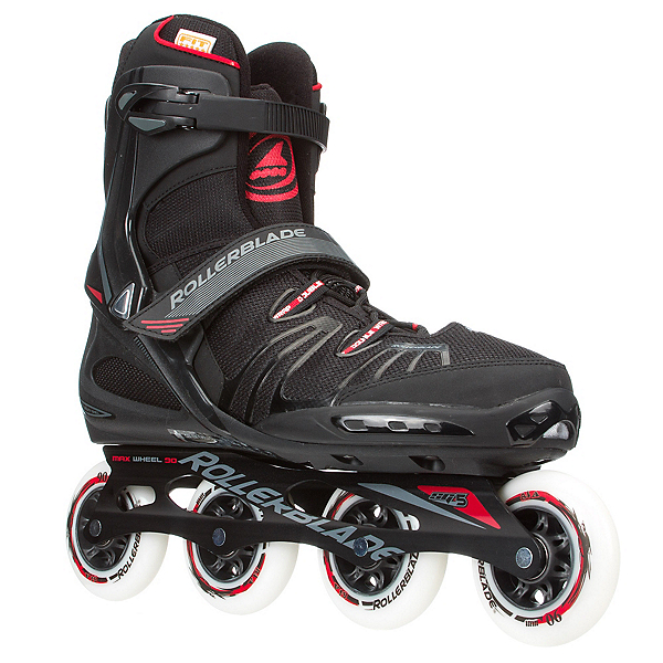 Rollerblade RB XL Inline Skates 2017, Black-Red, 600