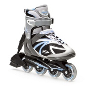 Bladerunner Performa ABT Womens Inline Skates, Silver-Blue, medium