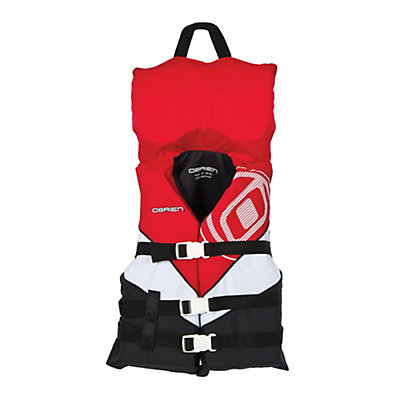O'Brien Nylon with Collar Junior Life Vest 2017, Red, viewer