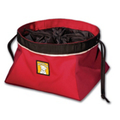 Ruff Wear Quencher Cinch Top Dog Bowl 2013, Red Currant, medium