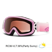 Smith Sidekick 13 Kids Goggles 2013, Pink Flutterby-Rc36, medium