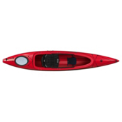 Perception Prodigy 13.5 Light Touring Kayak Recreational Kayak, Red, medium