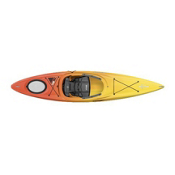 Dagger Zydeco 11.0 Recreational Kayak 2013, Red-Yellow, medium