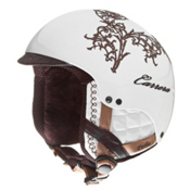 Carrera Perla 2.10 Womens Helmet, White Lace, medium