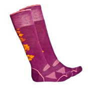 SmartWool PhD Medium Womens Snowboard Socks, Claret, medium