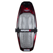 Radar Skis The Falcon Kneeboard 2013, Jet Black-Rocket Red, medium