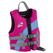 Radar Skis Akemi Toddler Life Jacket 2013, Pink-Blue, medium