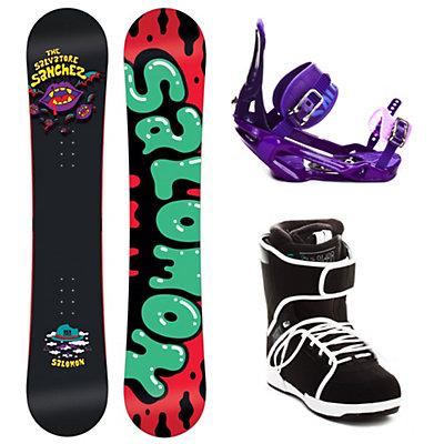 Salomon Salvatore Sanchez Complete Snowboard Package, , large