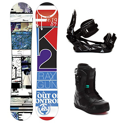 K2  Complete Snowboard Package, , large