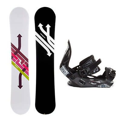 Reaper Arrow Helix Snowboard and Binding Package, , large