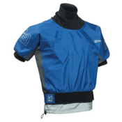 Immersion Research Rival Short Sleeve Paddling Jacket, Blue, medium