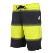 Volcom Maguro Fade Board Shorts, Yellow, medium