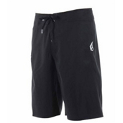 Volcom Maguro Solid Board Shorts, Black, medium
