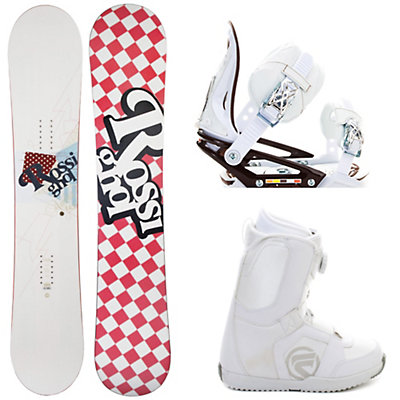 Rossignol Amber Womens Complete Snowboard Package, , large