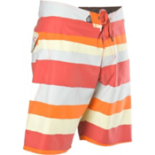 Volcom Maguro Stripe Boys Bathing Suit, Deep Red, medium