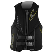 O'Neill Reactor 3 USCG Adult Life Vest, Black, medium