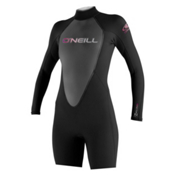 O'Neill Reactor Long Sleeve Spring Womens Shorty Wetsuit 2014, , medium