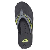 Reef X-S-1 Mens Mens Flip Flops, Black-Light Green, medium
