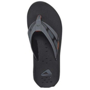 Reef X-S-1 Mens Mens Flip Flops, Black-Orange, medium