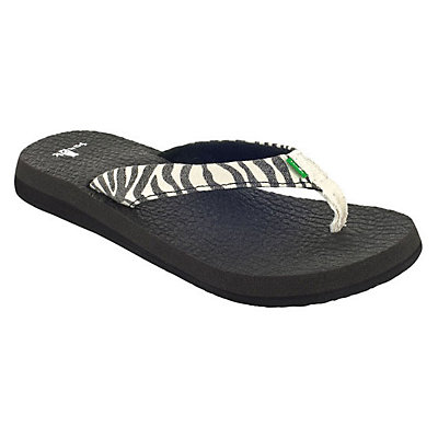 Sanuk Yoga Wildlife Womens Flip Flops, , large