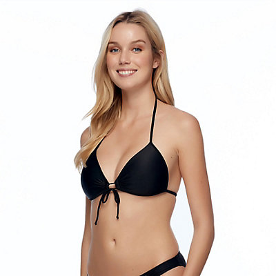 Body Glove Baby Love Bathing Suit Top, Black, large