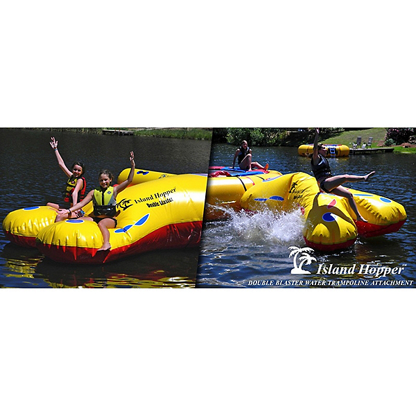 Island Hopper Double Blaster Water Trampoline Attachment 2017, , 600