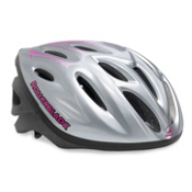 Rollerblade Workout Womens Fitness Helmet 2017, Silver-Purple, medium