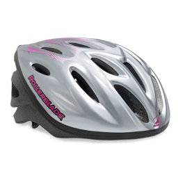 Rollerblade Workout Womens Fitness Helmet 2017, Silver-Purple, 256