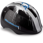 Rollerblade Zap Boys Fitness Helmet 2016, Black-Blue, medium